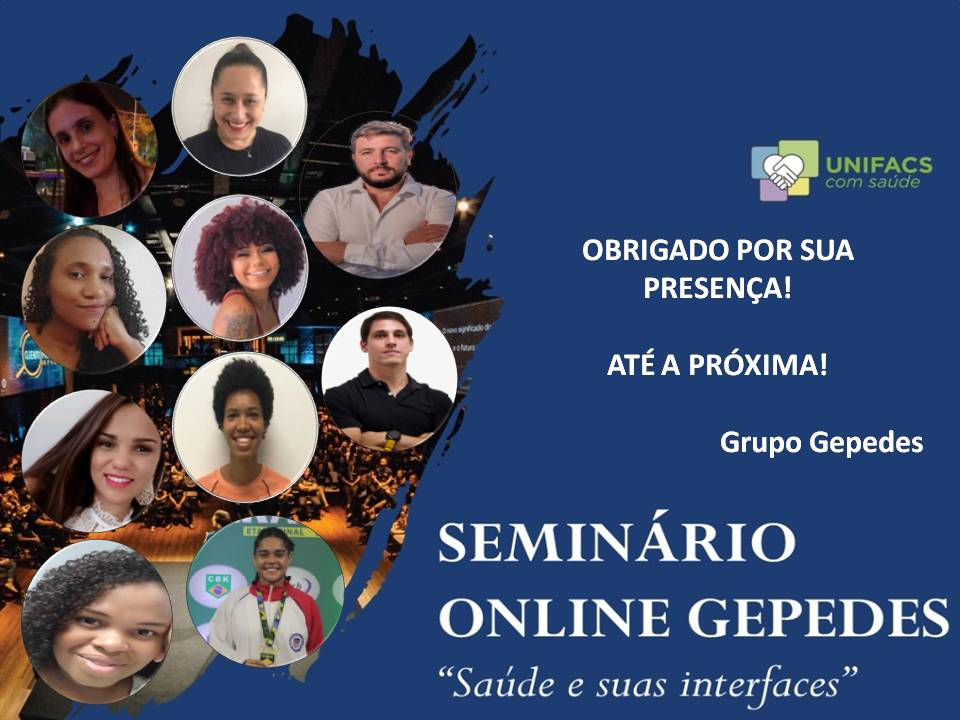 """Seminário online """"Saúde e suas interfaces"""" debate  impactos do Covid-19 no Brasil"""