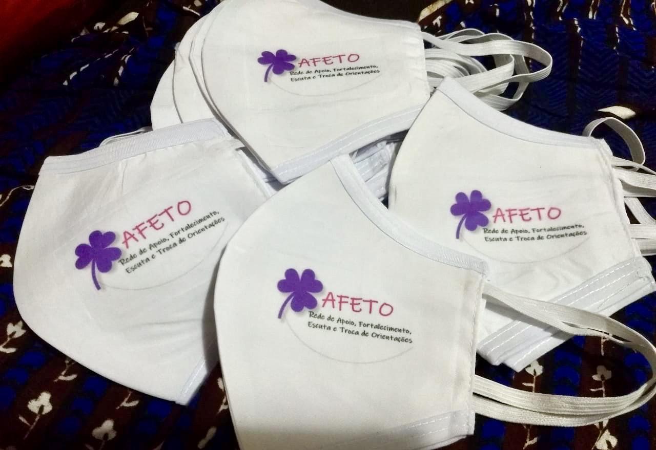 Rede Afeto doa 300 máscaras para detentas na Bahia