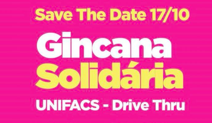 Gincana Solidária: Unifacs realiza Drive Thru para arrecadar doações