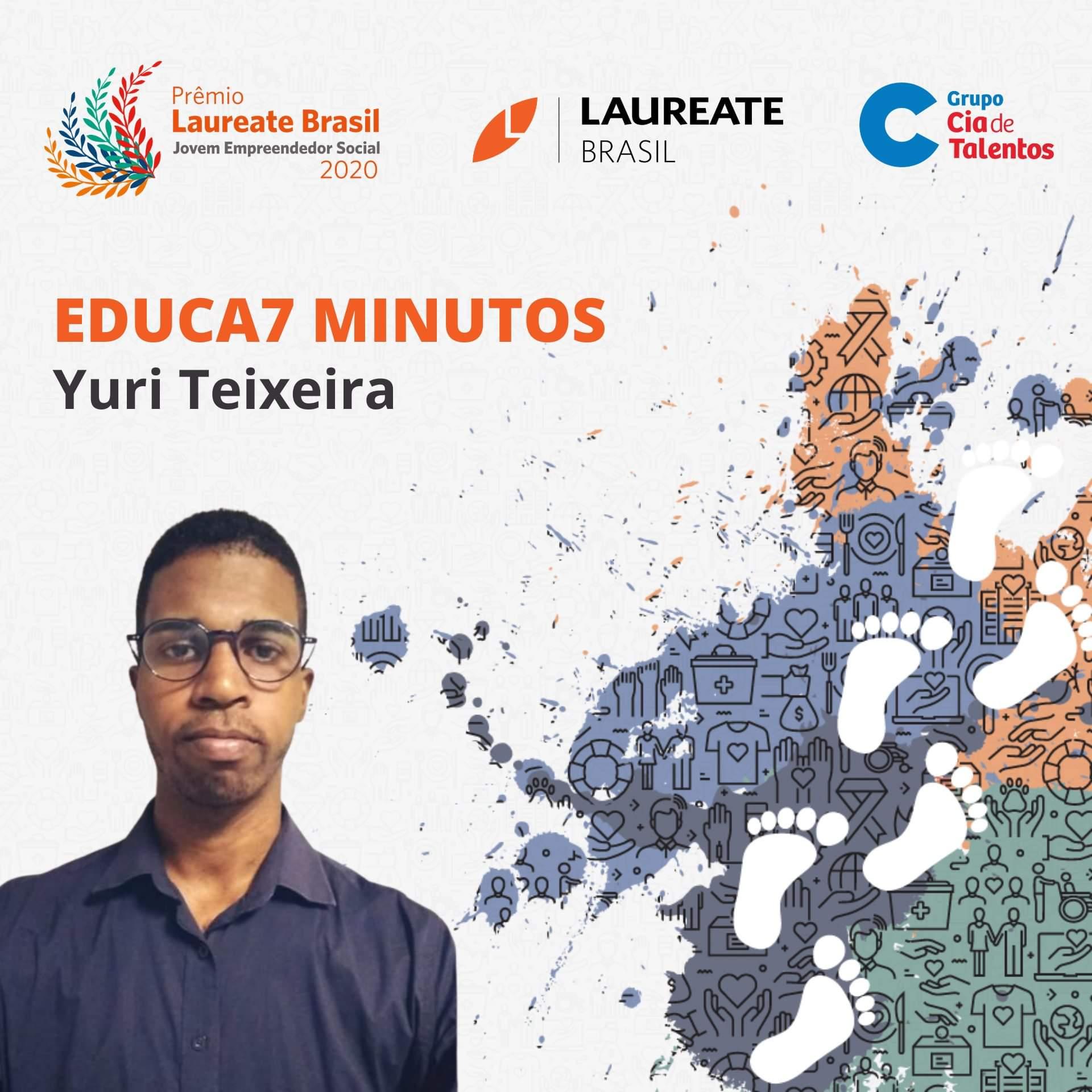 Prêmio Laureate Brasil Jovem Empreendedor: estudante baiano é premiado
