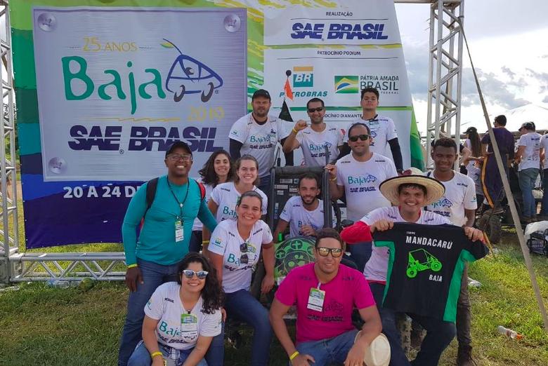 Alunos de Engenharia da Unifacs conquistam 5º lugar na etapa Nordeste da Competição Baja SAE