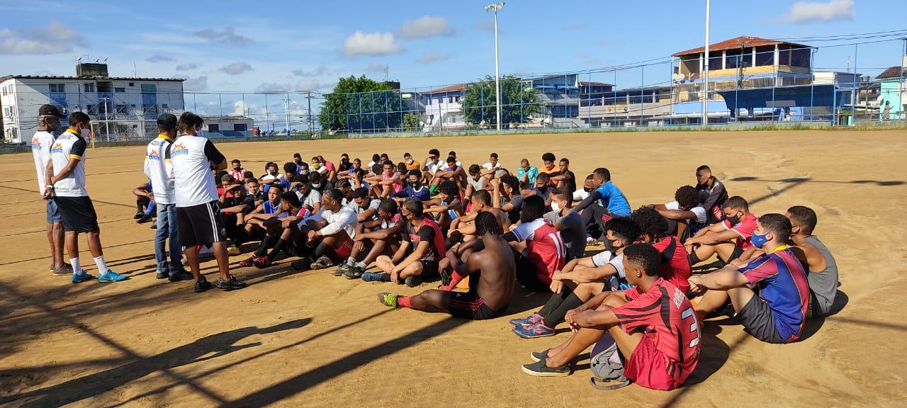 Esporte: jovens talentos do futebol surgem em Cajazeiras